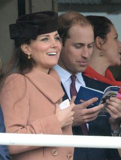 Кейт Миддлтон и принц Ульям