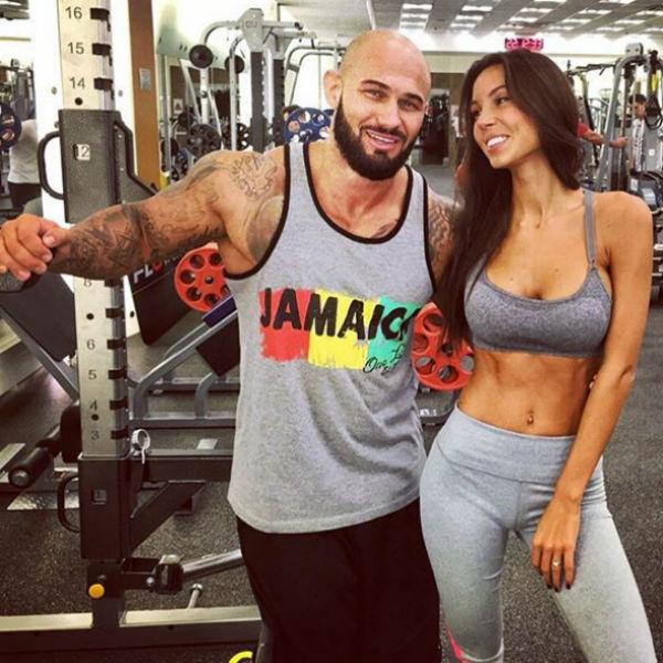 Оксана с мужем Джиганом ведут здоровый образ жизни