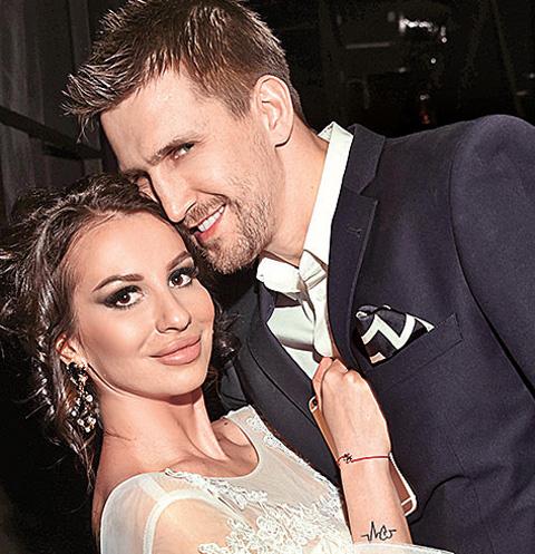 Анна Грачевская с женихом Артемом Кузякиным