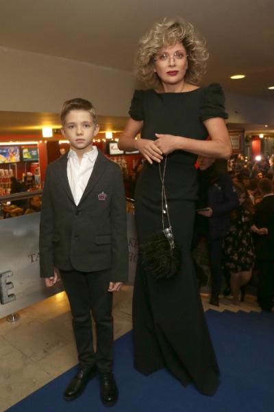 Ольга с сыном Елисеем