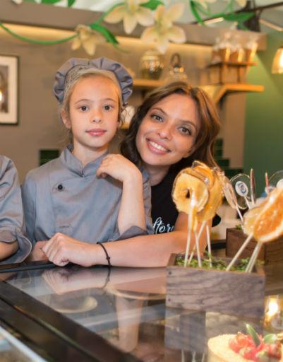 Регина Бурд с дочерью Никой