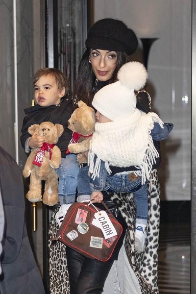 Недавно Амаль Клуни забрала детей и съехала из дома Джорджа