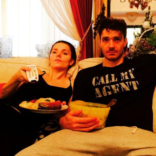 Елизавета Боярская с супругом Максимом Матвеевым вырабатывают свои методы воспитания сына
