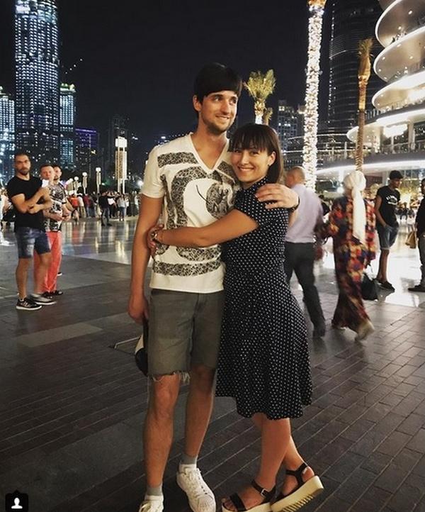Дмитрий Колдун с супругой