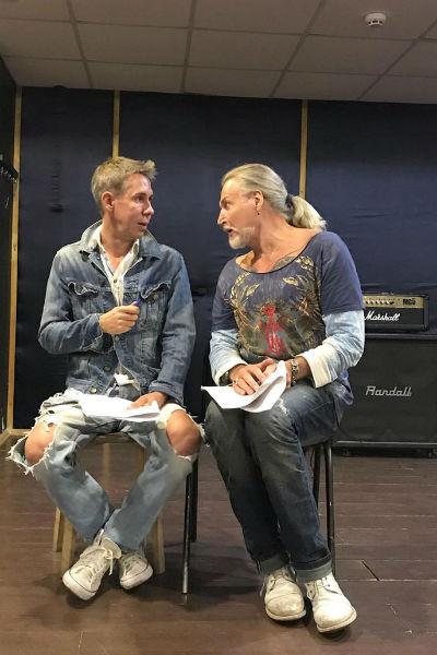 Алексей Панин и Никита Джигурда дружат много лет