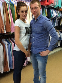 Кристина Дерябина и Евгений Руднев