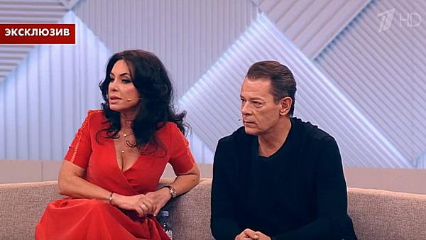 Вадим Казаченко с нынешней женой Ириной Аманти
