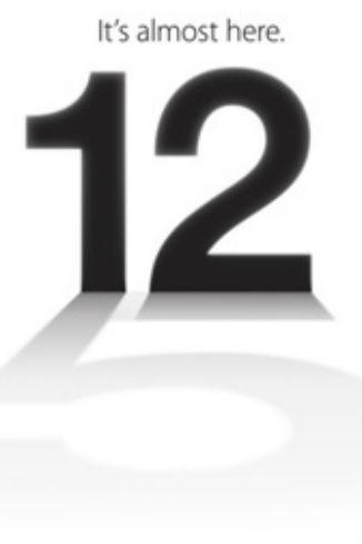 Приглашение на презентацию iPhone 5