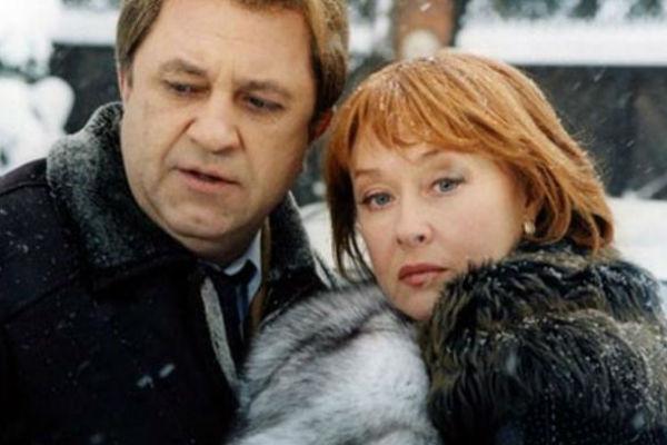 Владимир Стержаков и Лариса Удовиченко в сериале «Даша Васильева. Любительница частного сыска»