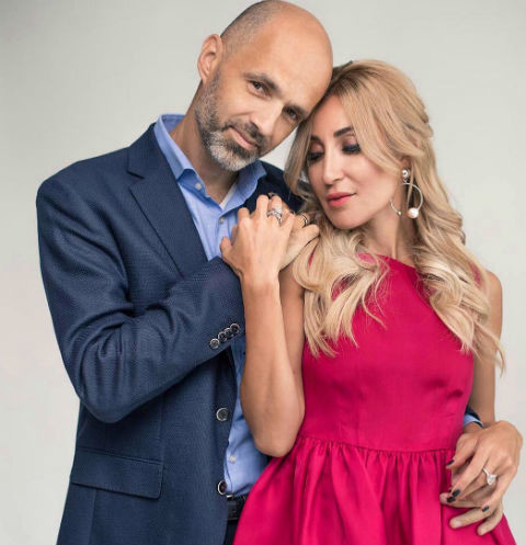 Виктория Демидова с мужем Антоном