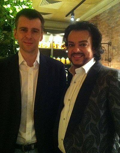 Филипп Кирокров и Михаил Прохоров