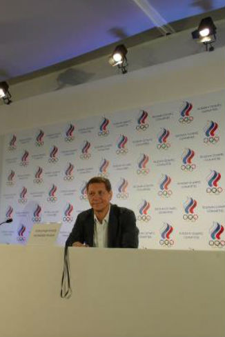 Президент Олимпийского комитета Александр Жуков