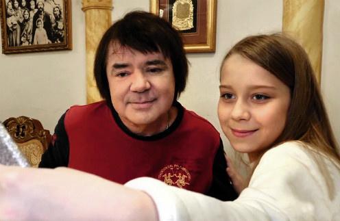 Евгений Осин с дочерью