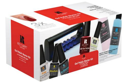 """Ориентировочная стоимость """"Стартового набора"""" - 3300 руб. В него входит: обезжириватель/дегидратор, базовое покрытие, цветное покрытие (гель-лак), верхнее покрытие, средство 2 в 1 для предварительной очистки ногтя и снятия липкого слоя, средство для удаления гель-лакового покрытия, портативная светодиодная (LED) лампа с поворотным световым полотном"""