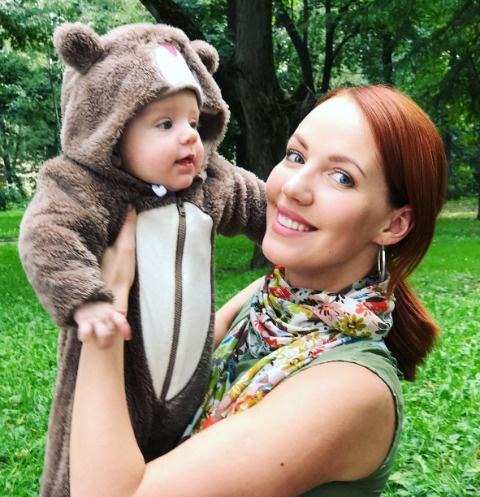 Галина Боб с сыном Андреем