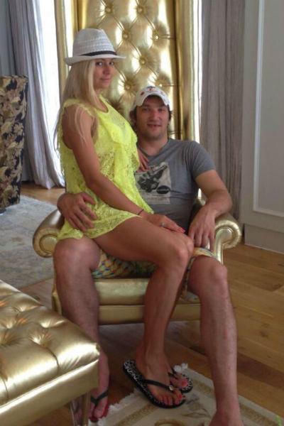 Овечкин и Кириленко в президентском номере отеля