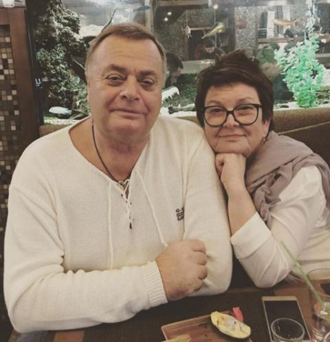 Владимир и Ольга Фриске