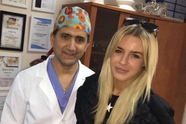 Кристина Лясковец и пластический хирург Гайк Бабаян