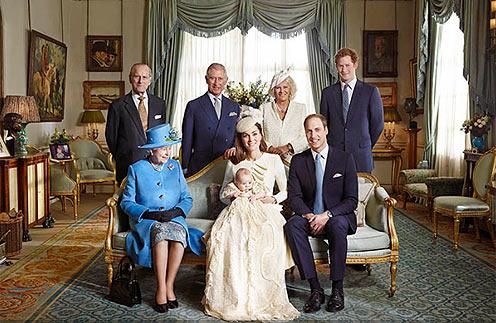 Королевское семейство в сборе
