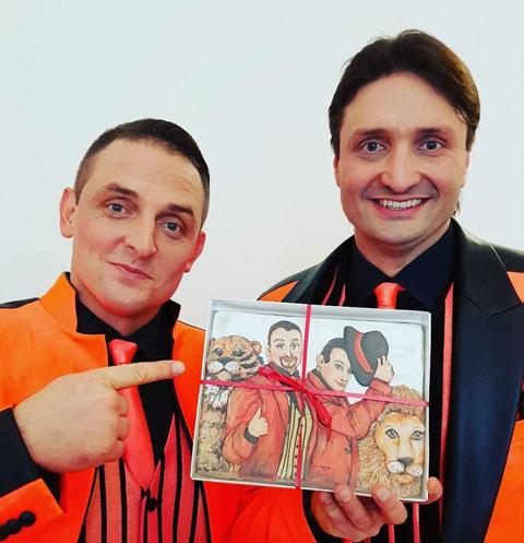 Аскольд и Эдгард Запашные