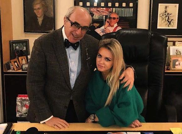 Милана Тюльпанова с адвокатом Александром Добровинским