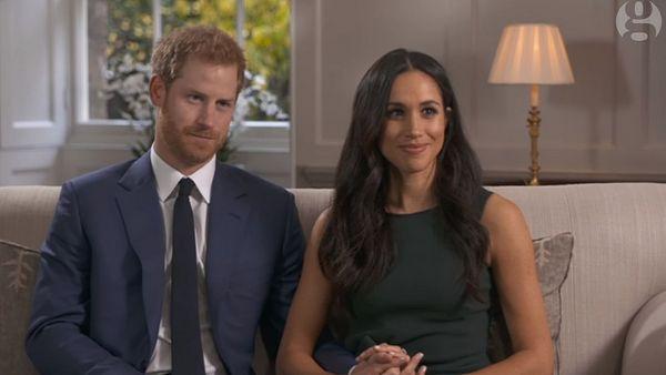 Гарри и Меган появились в эфире телеканала BBC