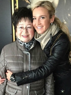 Ольга Бузова со своей бабушкой