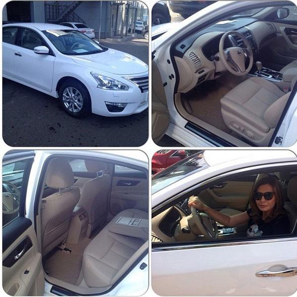 Ирина Агибалова похвасталась новой машиной