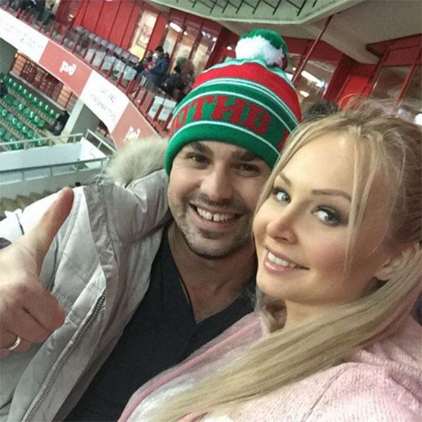 Сергей и Дарья Пынзарь побывали на футбольном матче