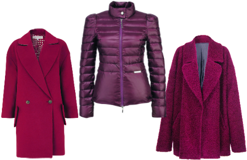Верхняя одежда: Пальто Luda Nikishina, 18500 руб. Пуховик Liu Jo, 15490. Пальто River Island, 6499 руб.