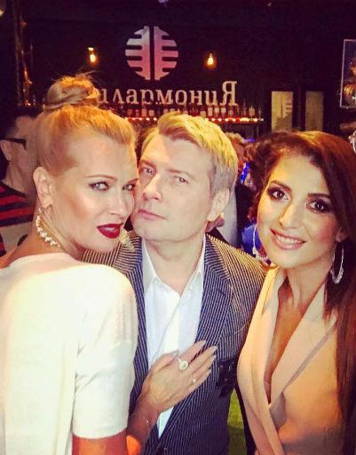 Олеся Судзиловская, Николай Басков и певица Жасмин