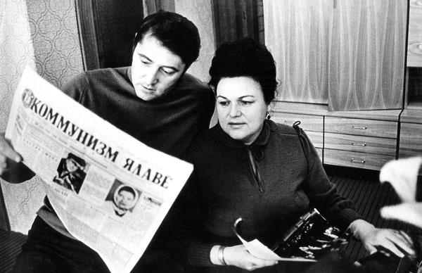 Людмила Зыкина с последним, четвертым мужем Виктором Гридиным. 1980 год