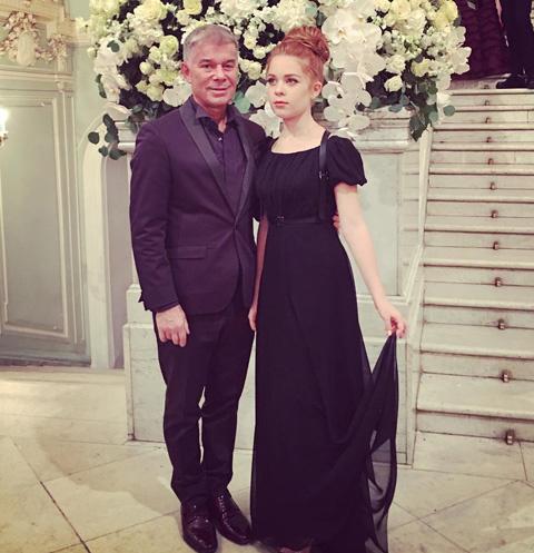 Олег Газманов с дочерью Марианной