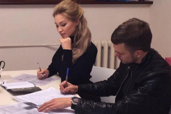 Евгения Феофилактова и Антон Гусев