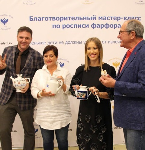 Ксения Собчак готова к рождению ребенка