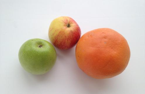 Ирина Пегова прислала в редакцию «СтарХита» фото своего фруктового перекуса