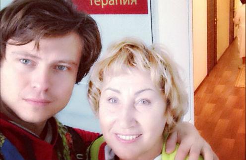 Прохор Шаляпин с невестой Ларисой Копенкиной