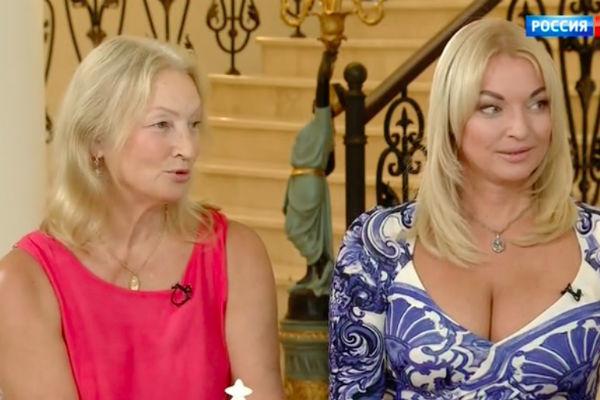 Анастасия Волочкова с мамой Тамарой Владимировной