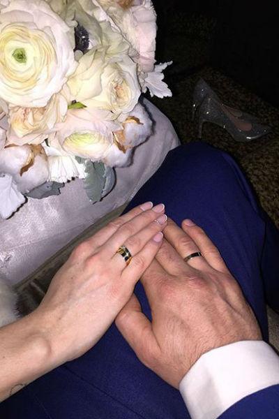 Теперь Алексей и Юлия - законные супруги