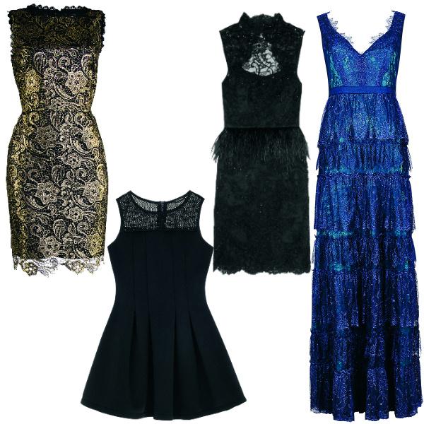 Love Republic Платье, 3699 руб. River Island Платье 2499 руб. Alice + Olivia Платье, 18 000 руб. BCBG Платье, 19 450 руб.