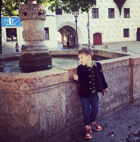Саша Дибров на экскурсии