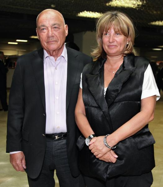 Владимир Познер с третьей женой Надеждой Соловьевой