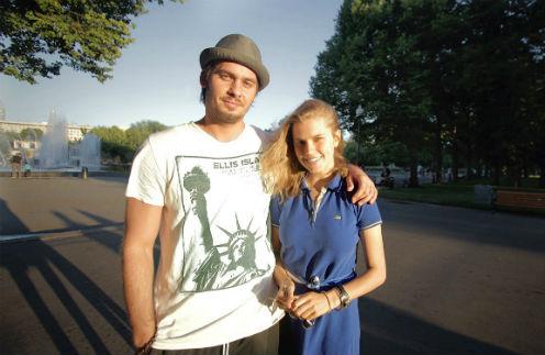 Андрей Батычко и Дарья Мельникова