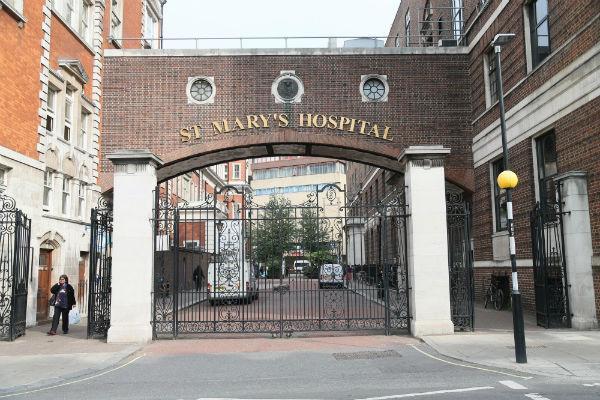 Госпиталь Святой Марии, где будет рожать Миддлтон