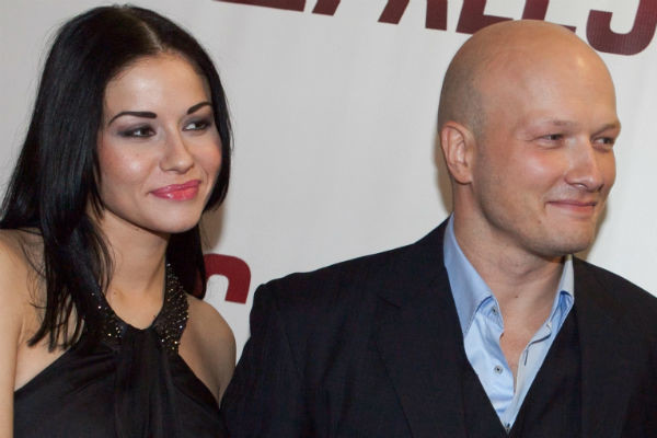 Никита Панфилов с экс-супругой