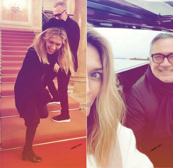 Вера Брежнева и Константин Меладзе отдыхают в Италии