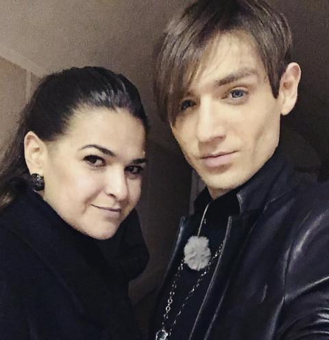 Виктория Райдос и Александр Шепс