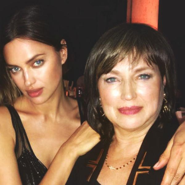 Ирина Шейк вместе с мамой