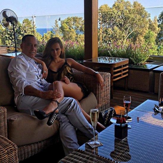 Ксения Дели с мужем Осамой Фати Рабах аль-Шарифом