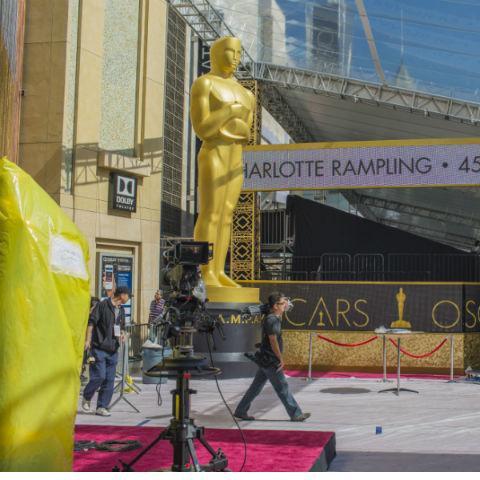Подготовка к «Оскару» в самом разгаре